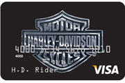 harley-davidson visa secured credit card